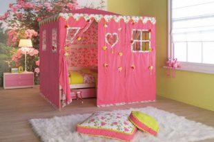 صورة غرف نوم بنات اطفال , تصميمات متعدده لغرف الفتيات