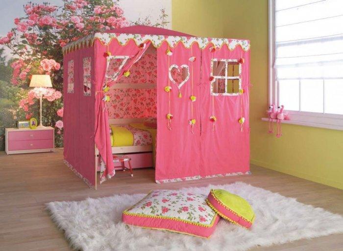 صور غرف نوم بنات اطفال , تصميمات متعدده لغرف الفتيات