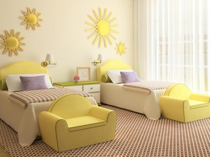 صور ديكورات غرف اطفال , غرف رقيقة ومتجددة