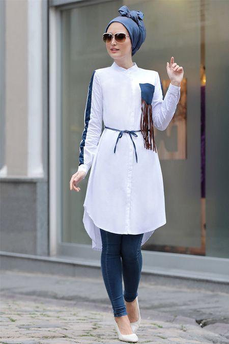 بالصور ملابس محجبات كاجوال , الحجاب زينة المراة 4131 10