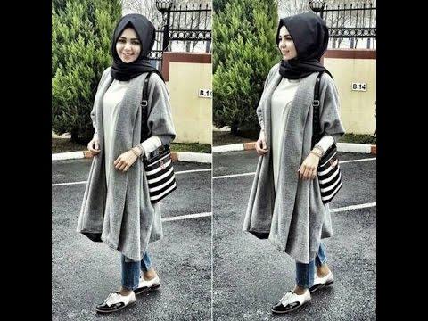 بالصور ملابس محجبات كاجوال , الحجاب زينة المراة 4131 11