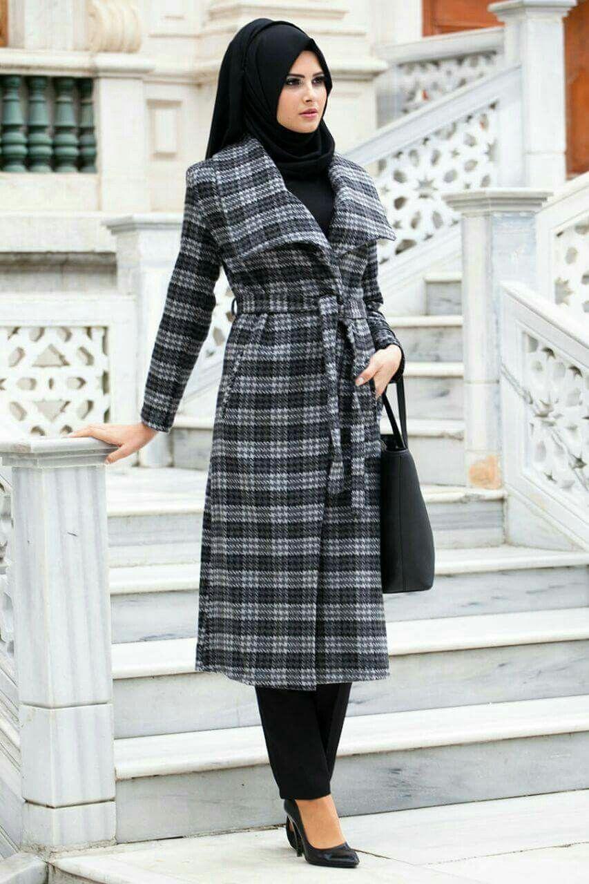 بالصور ملابس محجبات كاجوال , الحجاب زينة المراة 4131 2
