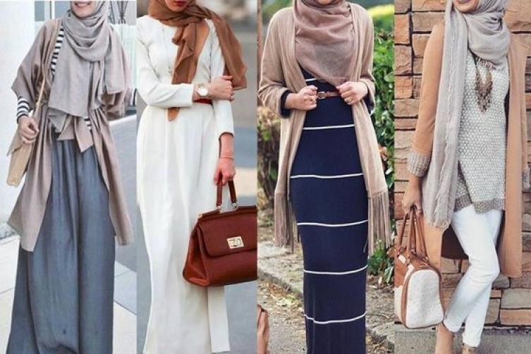بالصور ملابس محجبات كاجوال , الحجاب زينة المراة 4131 3