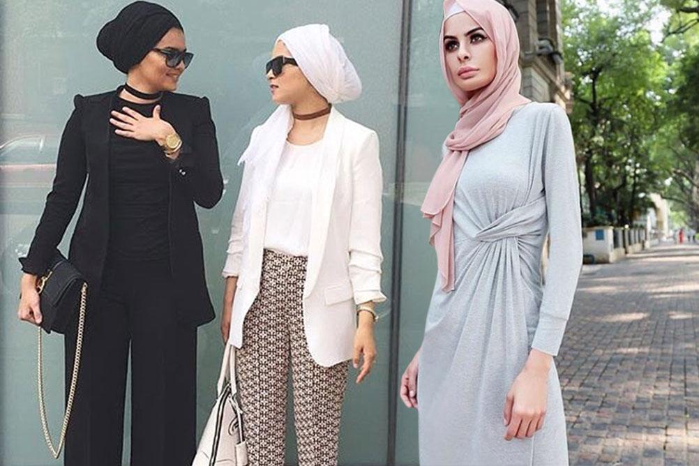بالصور ملابس محجبات كاجوال , الحجاب زينة المراة 4131 9