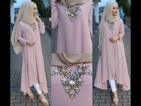 صور ملابس محجبات كاجوال , الحجاب زينة المراة