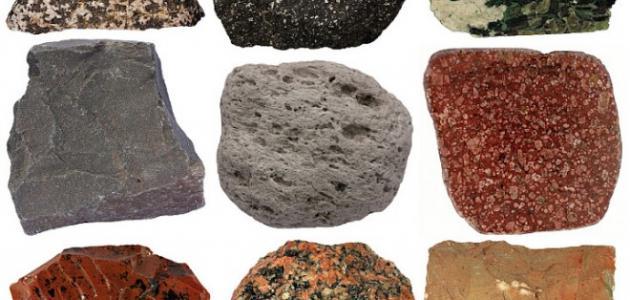 صور انواع الصخور , تعرف على انواع الصخور