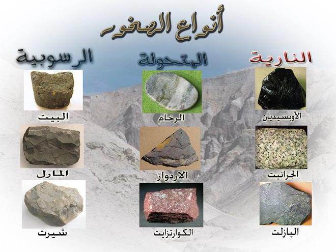 صورة انواع الصخور , تعرف على انواع الصخور