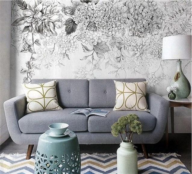 بالصور ورق جدران رمادي , احدث شكل لورق الجدران الرمادي 4504 3