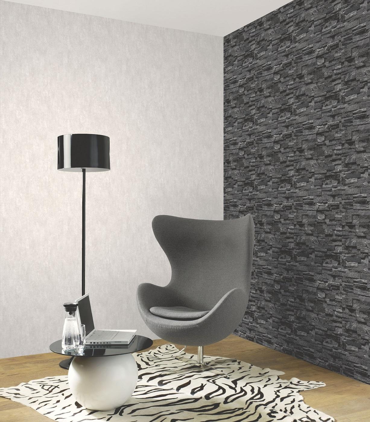 بالصور ورق جدران رمادي , احدث شكل لورق الجدران الرمادي 4504 4