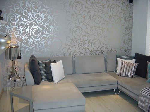 بالصور ورق جدران رمادي , احدث شكل لورق الجدران الرمادي 4504 5