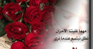 صور كلمات عن الورد , اجمل الكلمات عن الورد