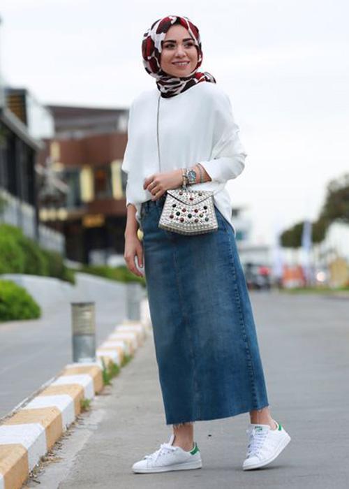صورة اخر صيحات الموضة للمحجبات , احدث صيحات الحجاب