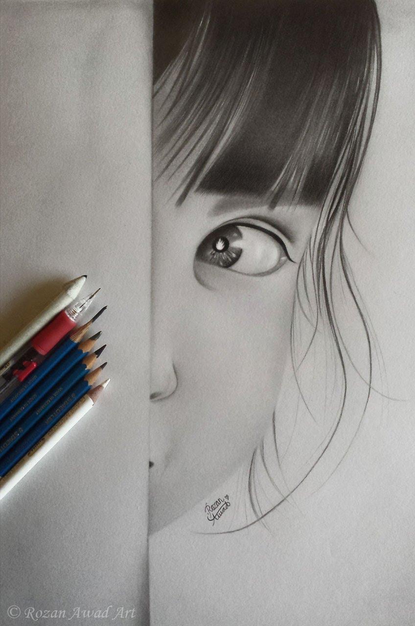 بالصور رسومات بالرصاص , احلى الرسومات بالقلم الرصاص 4642 1
