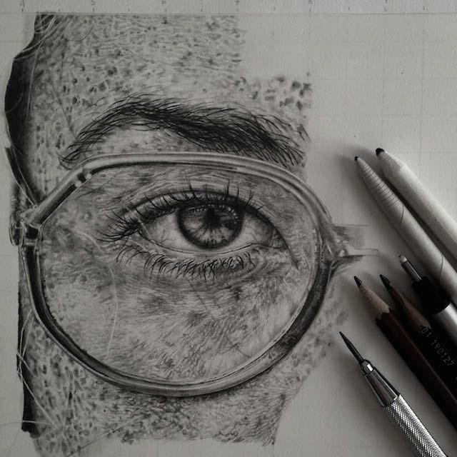 بالصور رسومات بالرصاص , احلى الرسومات بالقلم الرصاص 4642 10