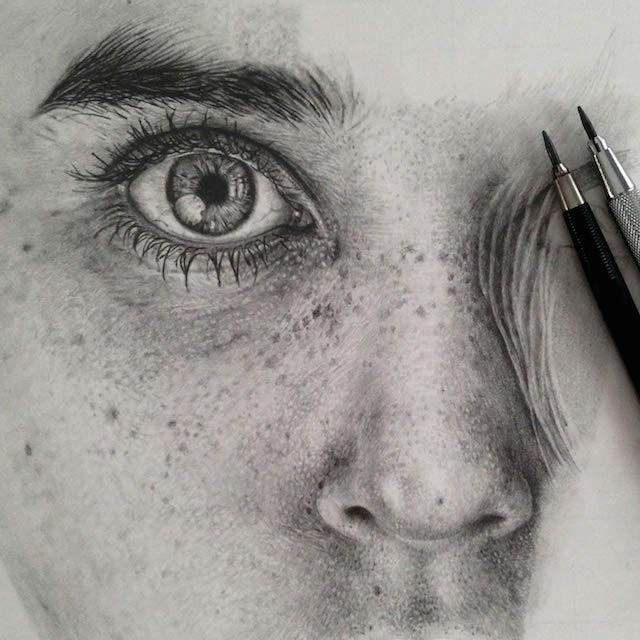 بالصور رسومات بالرصاص , احلى الرسومات بالقلم الرصاص 4642 11