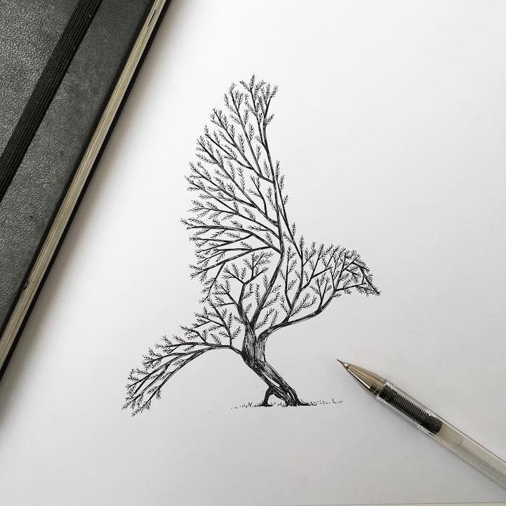 بالصور رسومات بالرصاص , احلى الرسومات بالقلم الرصاص 4642 7