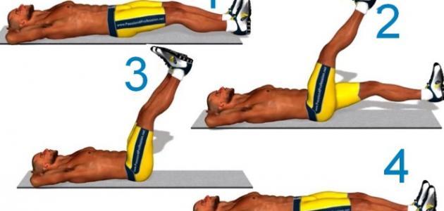 صورة تمارين عضلات البطن , افضل التمارين للعضلات