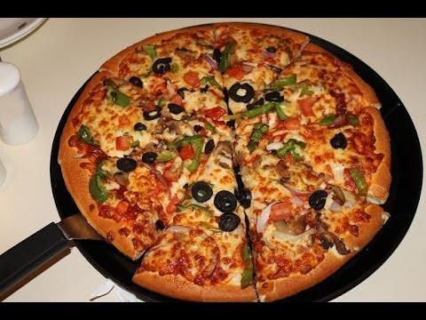 صور طريقة عمل البيتزا بالصور خطوة خطوة , اسهل طريقة تحضير البيتزا بالصور