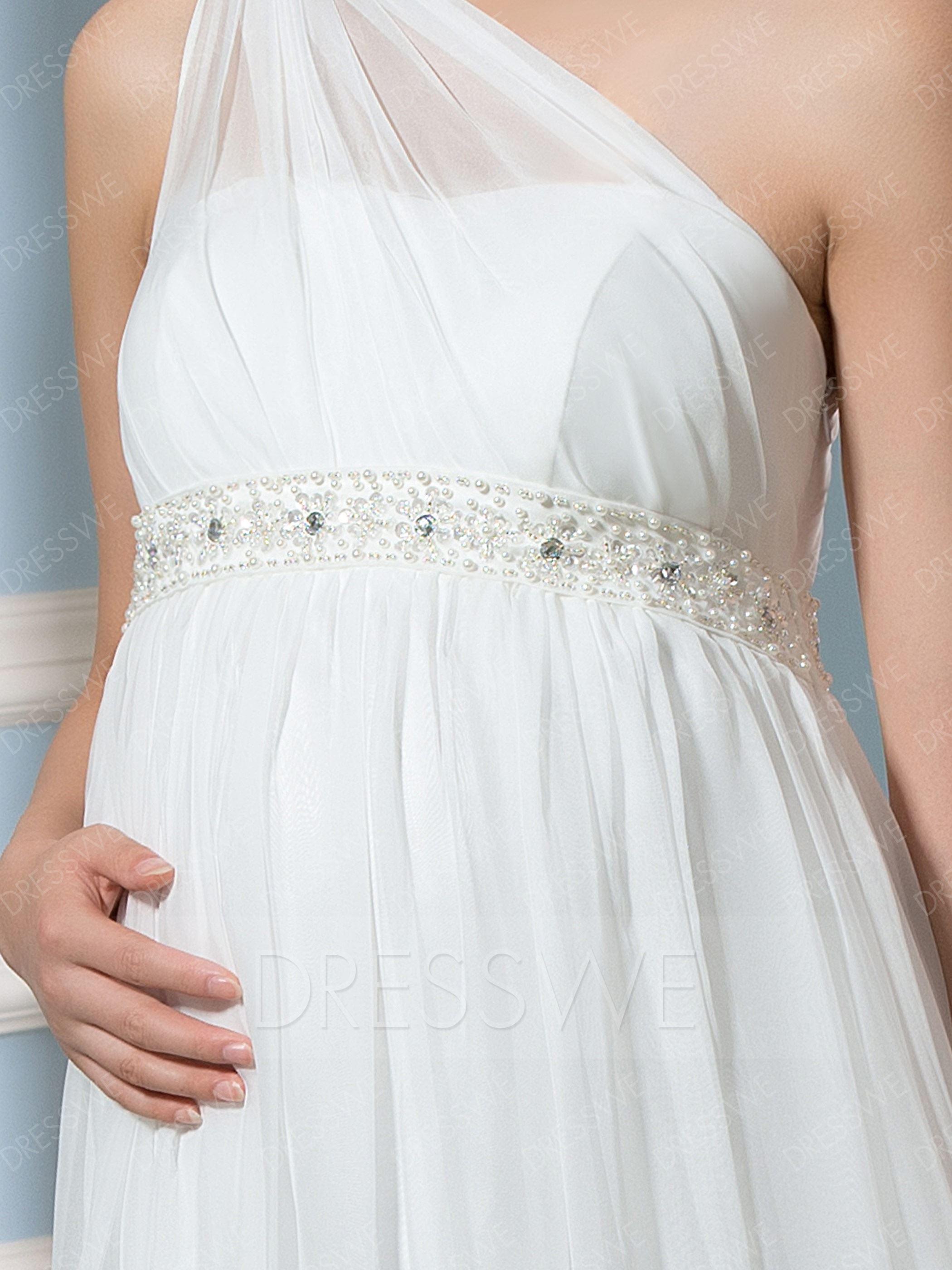 بالصور فساتين اعراس للحوامل , صور لاحلى فساتين زفاف امومة 6227 11