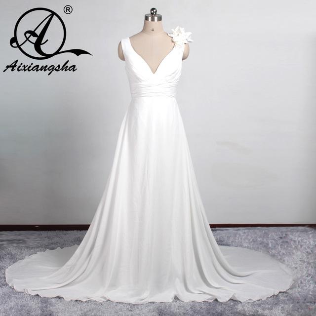 بالصور فساتين اعراس للحوامل , صور لاحلى فساتين زفاف امومة 6227 7
