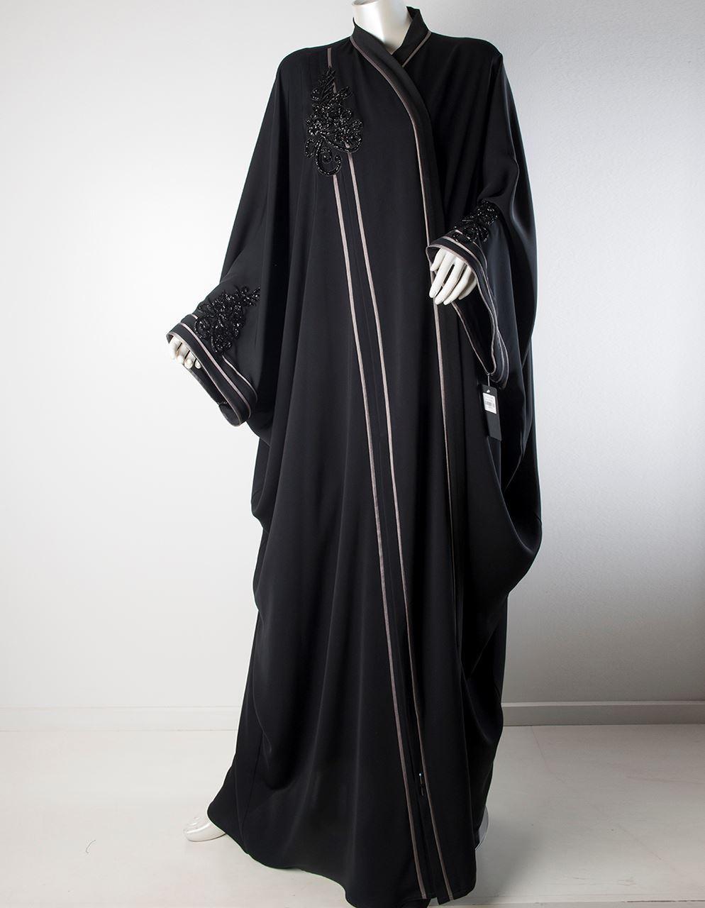 صورة عبايات سعودية , صور للعبايات السعودية جذابة وانيقة