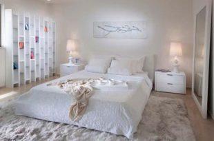 صورة غرف نوم بيضاء , الابيض اجمل الالوان للعرائس الجدد
