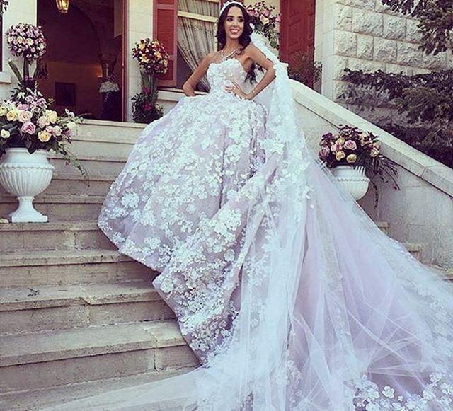 صورة فساتين زفاف فخمه , اروع الفساتين للعرائس الجميله