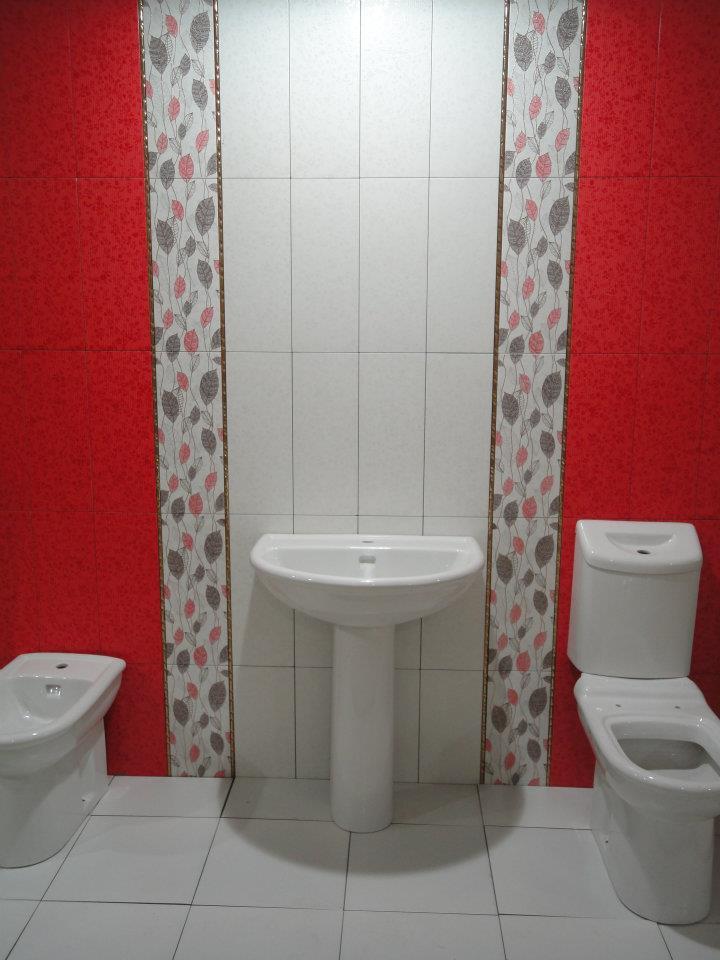 اشكال سيراميك حمامات الوان و اشكال جديدة لحمامات عصريه دلع ورد