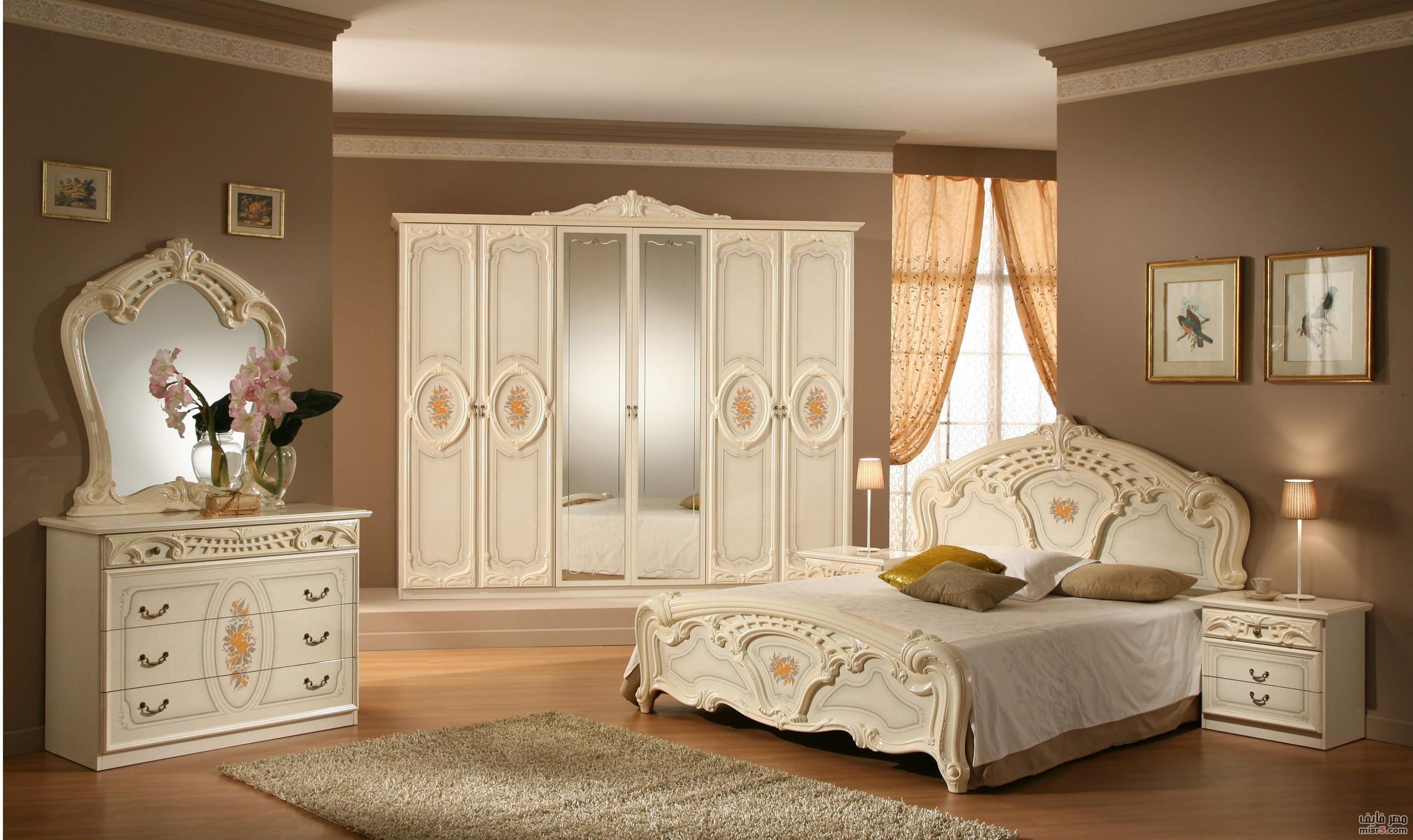 صورة غرف نوم جديده , تصميمات غرف نوم رائعه للعرائس