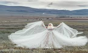 بالصور فساتين زفاف للمحجبات , شراء بسعر الايجار 2992 8