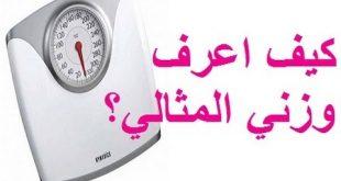 بالصور طريقة حساب الوزن المثالي , كيف احسب وزنى المثالى 3249 3 310x165