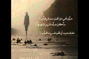 صورة اشعار قصيره , اجمل الكلمات الشعرية