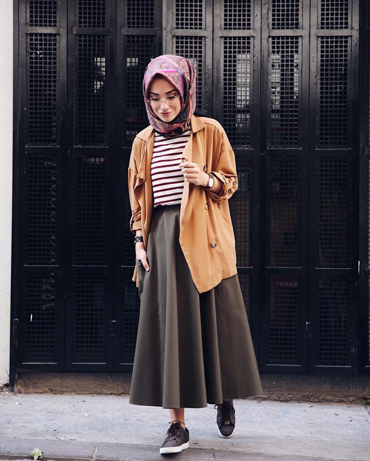بالصور موضة صيف 2019 للمحجبات , كوليكشن رائع لجميع ملابس المحجبات على الموضه 775 2
