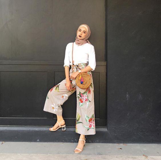 صورة موضة صيف 2019 للمحجبات , كوليكشن رائع لجميع ملابس المحجبات على الموضه