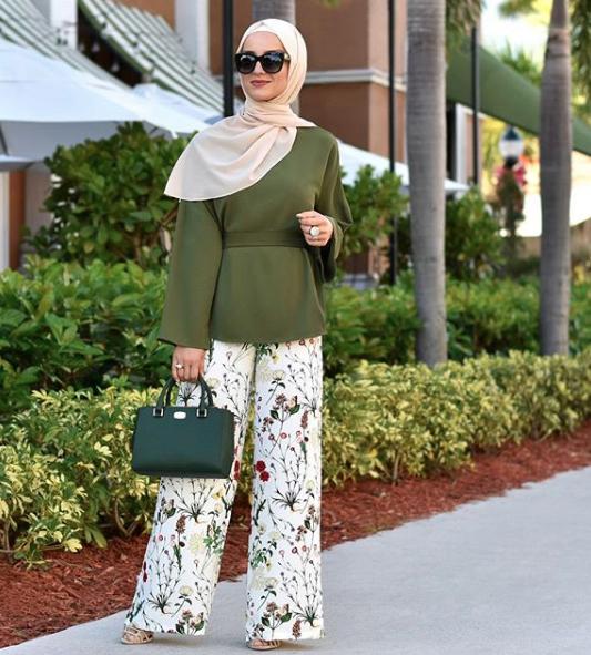 بالصور موضة صيف 2019 للمحجبات , كوليكشن رائع لجميع ملابس المحجبات على الموضه 775