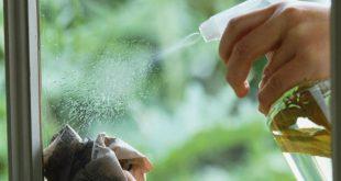 صور طريقة تنظيف الزجاج , كيف اجعل الزجاج لامع