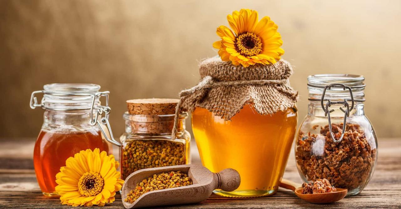 صورة كيفية استخدام غذاء ملكات النحل , طريقة لعمل خلطات بعسل النحل