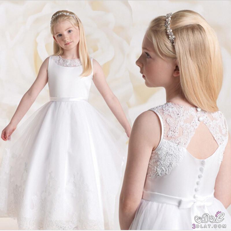 بالصور فساتين بنات صغار للاعراس , اجمل ملابس للبنات 12569 1