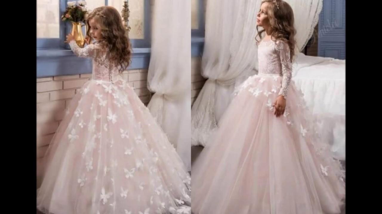 بالصور فساتين بنات صغار للاعراس , اجمل ملابس للبنات 12569 10
