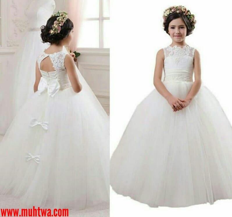 بالصور فساتين بنات صغار للاعراس , اجمل ملابس للبنات 12569 3