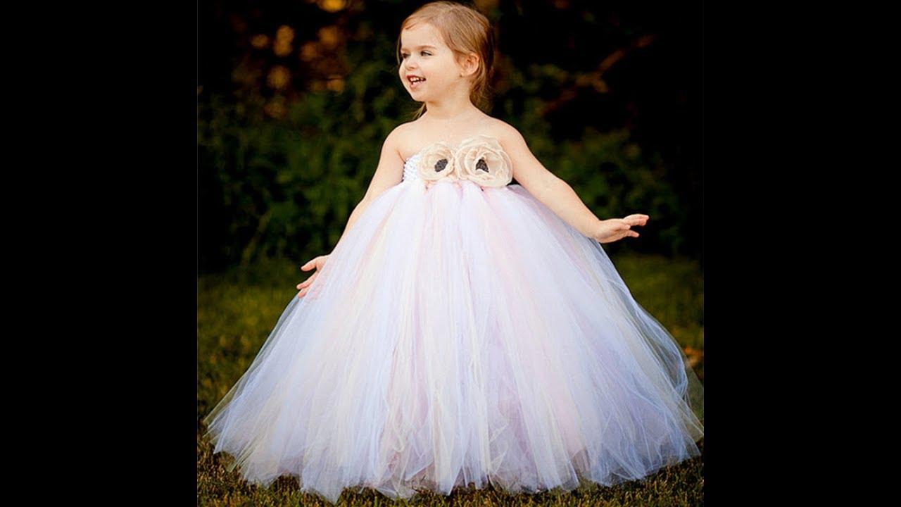 بالصور فساتين بنات صغار للاعراس , اجمل ملابس للبنات 12569 4
