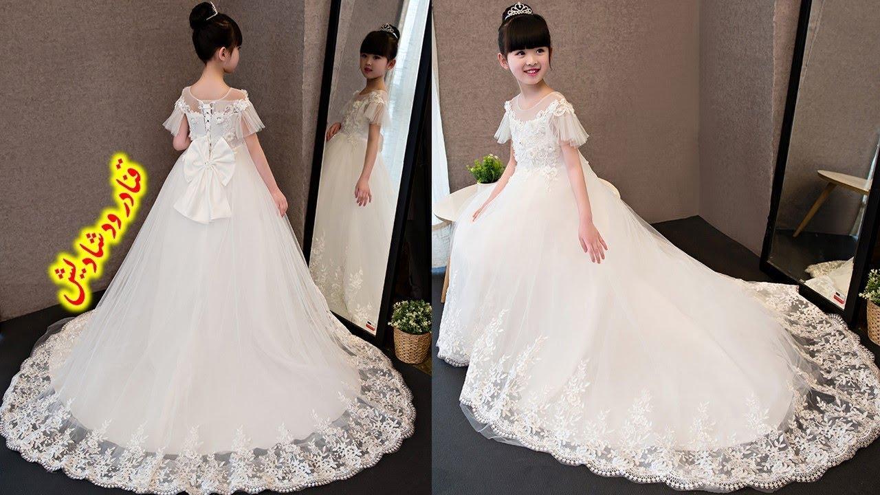 بالصور فساتين بنات صغار للاعراس , اجمل ملابس للبنات 12569 5