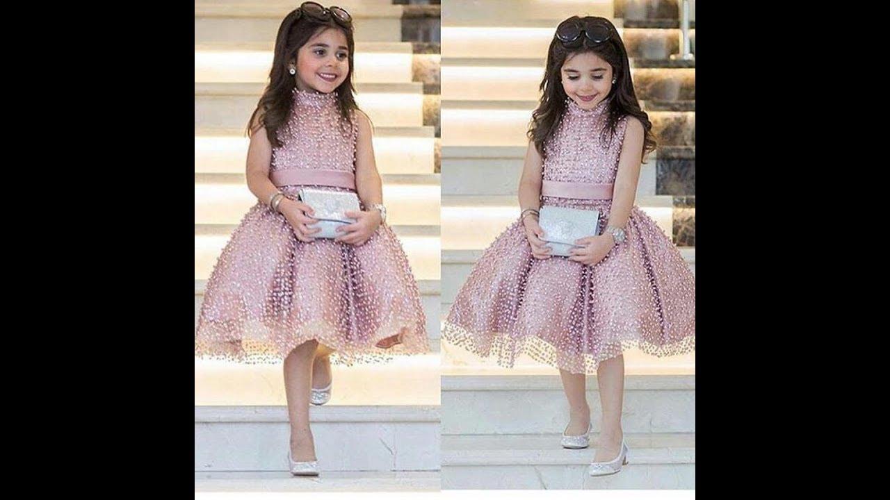 بالصور فساتين بنات صغار للاعراس , اجمل ملابس للبنات 12569 8
