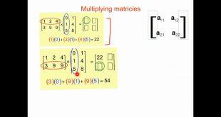 بالصور طريقة ضرب المصفوفات , التعرف على اسرار المصفوفات 12625 2 310x165