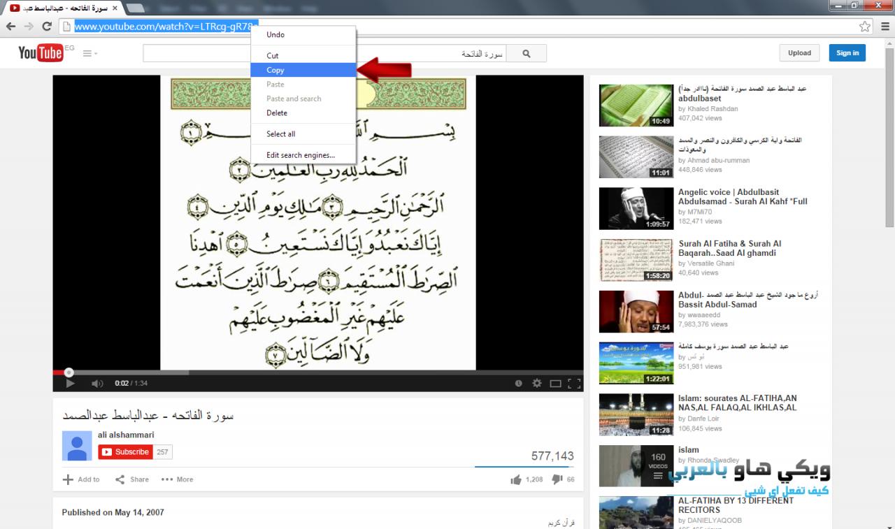 صور ازاى احمل من اليوتيوب , طريقة بسيطة لتحميل الفيديوهات