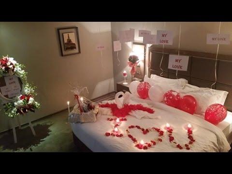 بالصور ليلة رومانسية في غرفة النوم , كيفية اعداد غرفة رومانسية 12788 1