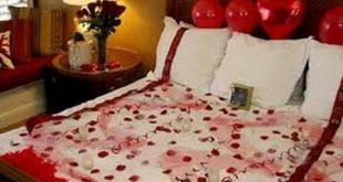 ليلة رومانسية في غرفة النوم , كيفية اعداد غرفة رومانسية