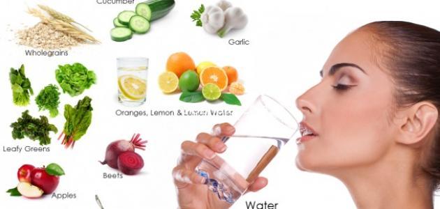 صور طرق التخلص من السموم في الجسم , كيفية طرد السموم من الجسم