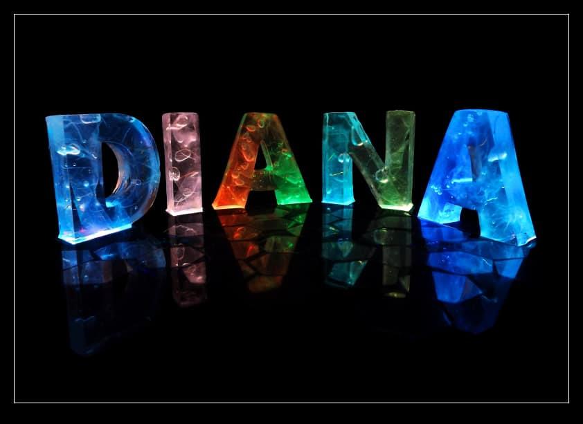 صور معني اسم ديانا , تعريف اسم ديانا