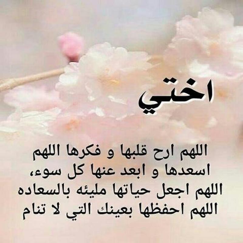 بالصور كلام جميل عن الاخت , اجمل كلمات في حب الاخت 3640 1